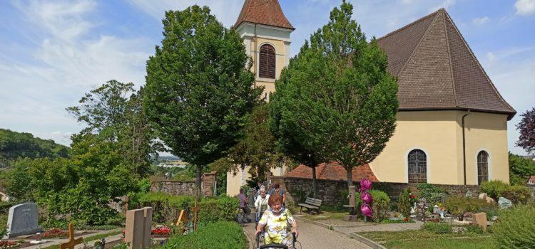 Spaziergang über den Friedhof Königsbach